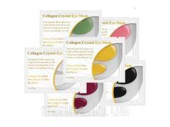Коллагеновые кристальный патчи под глаза Lanbena Collagen Crystal Eye Mask 2*3 г Желтый