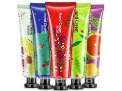 Крем для рук BioAqua  с натуральными экстрактами. 30 грамм blueberries
