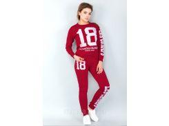 Спортивный костюм 18 (красный)