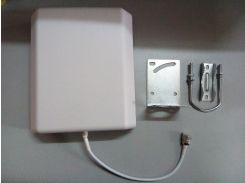 Антенна внешняя панельная GSM/CDMA/DCS/3G (806-2500 МГц) 10 дБ