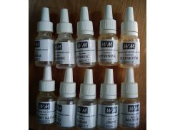 Ароматизаторы пищевые WM (для добавления в жидкость электронных сигарет) 10 мл