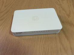 Коммутатор локальной сети (Switch) D-Link DGS-1008A