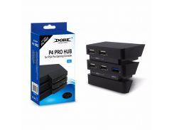 Dobe PS4 Pro USB-концентратор для игровой консоли