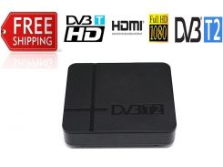 DVB-T2 приставка (тюнер) полная совместимость с dvb-t/H.264 поддерживает DVB T2 dvb t h.264 таймер PVR