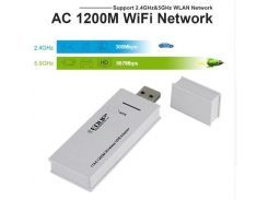 Беспроводной двухдиапазонный Wi-Fi адаптер EDUP (2,4 ГГц / 5,8 ГГц)  802.11 a/b/g/n/ac 1200 Мбит/с