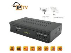 Спутниковая приставка DVB-S2 + DVB-T2 Full HD  + IP ТВ  Youtube CS ключ H.264 AC3 wi-Fi 3g. Поддержка Dolby AC3