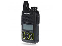 Портативная радиостанция Baofeng BF-T1 Mini (супер тонкая) + гарнитура