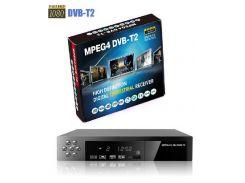 HD цифровая DVB T2 приставка H.264 поддержка MP3 MPEG4 формата в комплекте с антенной