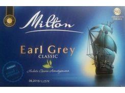 Чай черный Milton earl grey classik 80 пакетов