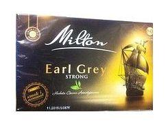 Чай черный Milton Strong с бергамотом 80 пакетов