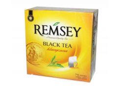 Чай черный Remsey классический 75 пакетиков