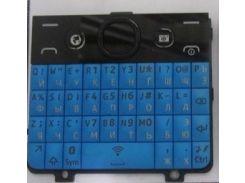 Клавиатура русская, синяя, Asha 210 оригинал