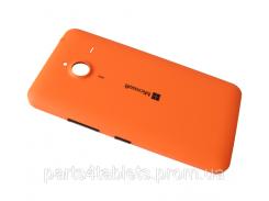 Крышка АКБ оранжевая, для Lumia 640 XL оригинал