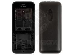 Корпус для мобильного телефона Nokia 220 Dual SIM, черный