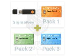 SigmaKey + активации Sigma Pack 1, 2, 3