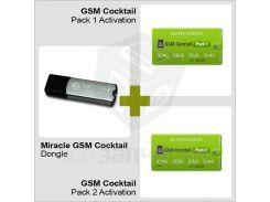 Донгл Miracle GSM Cocktail с активированными Packs 1 и 2