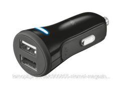Авто зарядка TRUST 20W Car Charger with 2 USB port