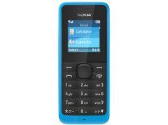 Мобильный телефон NOKIA 105 (синий)