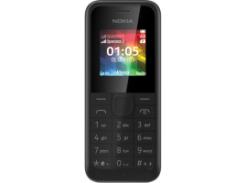 Мобильный телефон NOKIA 105 Dual SIM (черный)