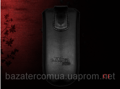 Чехол eXtra Style Samsung black S5660 black