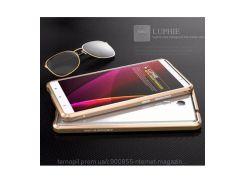 Алюминиевый бампер Luphie Blade Sword для Xiaomi Redmi Note 3 / Redmi Note 3 Pro Золотой