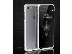 """Алюминиевый бампер Luphie Blade Sword для Apple iPhone 7 (4.7"""") ( one color)   Серебряный"""