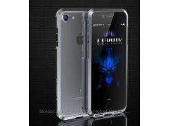 """Алюминиевый бампер Luphie Blade Sword для Apple iPhone 7 (4.7"""") ( one color)   Серый"""