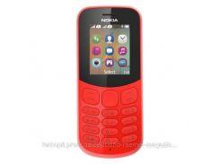 Мобильный телефон NOKIA 130 Dual SIM (красный)