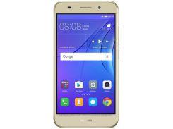 смартфон huawei y3 2017 dual sim (золотистый) оригинал 12 мес.