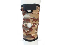 Бандаж для коленного сустава и связок ARMOR ARK2101 размеры S M L XL Коричневий