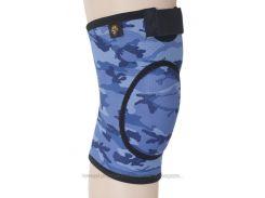 Бандаж для коленного сустава и связок, закрыт ARMOR ARK2106 размеры S M L XL Синий