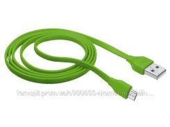 Кабель TRUST URBAN Micro-USB Cable 1m (ЛАЙМ)