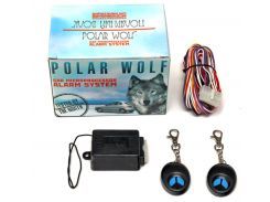 Сигнализация для мотоциклов и мопедов Polar Wolf Motowolf-01
