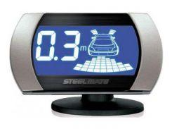 Парктроник на перед и зад SteelMate PTS810V2 black, silver (PTS810V2 с серыми датчиками)