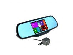 Зеркало-навигатор с видеорегистратором CYCLONE MR-110 AND V2 + 32 Gb