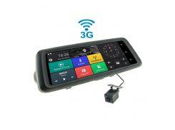 10-дюймовое зеркало-видеорегистратор (Android) CYCLONE MR-225 AND 3G
