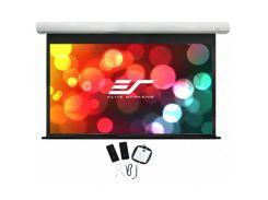 Проекційний екран ELITE SCREENS SK135NXW-E6 настінно-стельовий, пряма, моторизований, 291 см, 182 см