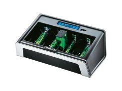 Зарядний пристрій для акумуляторів Varta LCD UNIVERSAL CHARGER w/USB (57678101401) D, R22 (крона), А