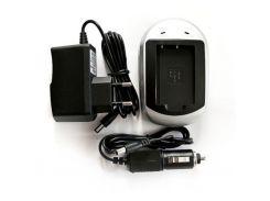 Зарядний пристрій для фото PowerPlant Sony NP-BN1, NP-120 (DV00DV2278) Sony NP-BN1, NP-120