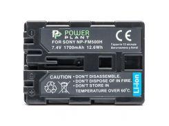 Акумулятор до фото/відео PowerPlant Sony NP-FM500H (DV00DV1229) PowerPlant, Sony, 1700mAh, 7.4V, Li-