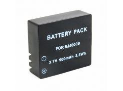 Акумулятор до фото/відео EXTRADIGITAL SJCAM SJ4000B (BDS2689) EXTRADIGITAL, SJCAM, 900mAh, 3.7V, Li-