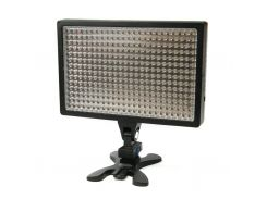 Спалах PowerPlant Накамерный свет LED 336A (LED336A) Canon, Nikon, Panasonic, Samsung, Sony, батареї