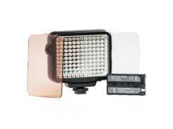 Спалах PowerPlant Накамерный свет LED 5009 (LED-VL008) (LED5009) Canon, Nikon, Panasonic, Samsung, S