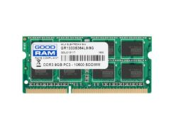 """Модуль пам""""яті для ноутбука SoDIMM DDR3 8GB 1333 MHz GOODRAM (GR1333S364L9/8G) DDR3, 8 GB, 1, 1333 M"""