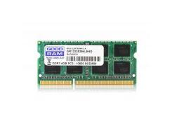 """Модуль пам""""яті для ноутбука SoDIMM DDR3 2GB 1600 MHz GOODRAM (GR1600S3V64L11/2G) DDR3, 2 GB, 1, 1600"""