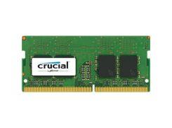 """Модуль пам""""яті для ноутбука SoDIMM DDR4 4GB 2133 MHz MICRON (CT4G4SFS8213) DDR4, 4GB, 1, 2133 МГц, C"""