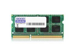 """Модуль пам""""яті для ноутбука SoDIMM DDR3 2GB 1600 MHz GOODRAM (GR1600S364L11/2G) DDR3, 2 GB, 1, 1600"""