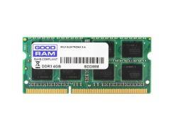 """Модуль пам""""яті для ноутбука SoDIMM DDR3 8GB 1600 MHz GOODRAM (GR1600S364L11/8G) DDR3, 8 GB, 1, 1600"""