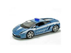 Машина Bburago LAMBORGHINI GALLARDO LP560 POLIZIA (18-43025)