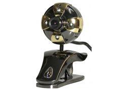 Веб камера HQ-Tech WU-9008 (WU-9008) разрешение 1280x1024, USB, микрофон есть
